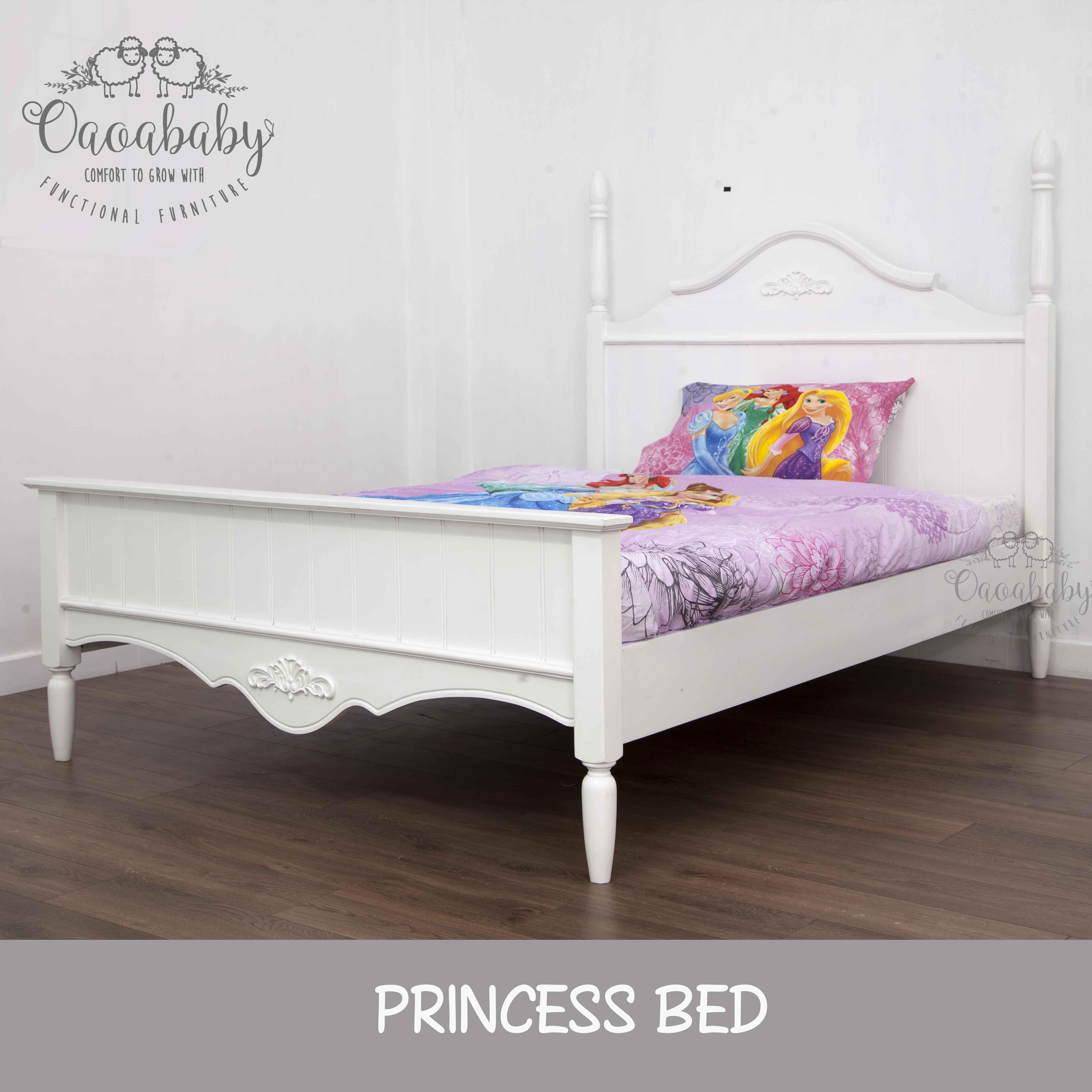 Giường Doll House Công chúa 1m2/1m4/1m6