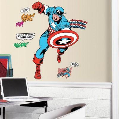 WD - Classic Captain America Comic Giant