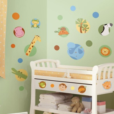 WD - Jungle Animal Polka Dot