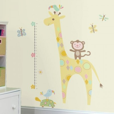WD - Tribal Baby Animal Growth Chart