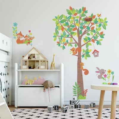 WD - Woodland Creatures Tree Giant